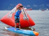 Lech L. Dolecki photo LLD 180811_ Locarno Beach, Vancouver, British Columbia, Canada. at the Vancouver SUP Challenge.
