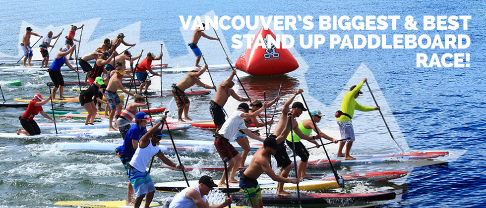 Vancouver's Biggest & Best Standup Paddleboard Race