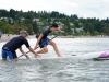 Lech L. Dolecki photo LLD 180811_ Locarno Beach, Vancouver, British Columbia, Canada. at the Vancouver SUP Challenge.